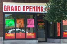 Grand Opening for a Bakery
